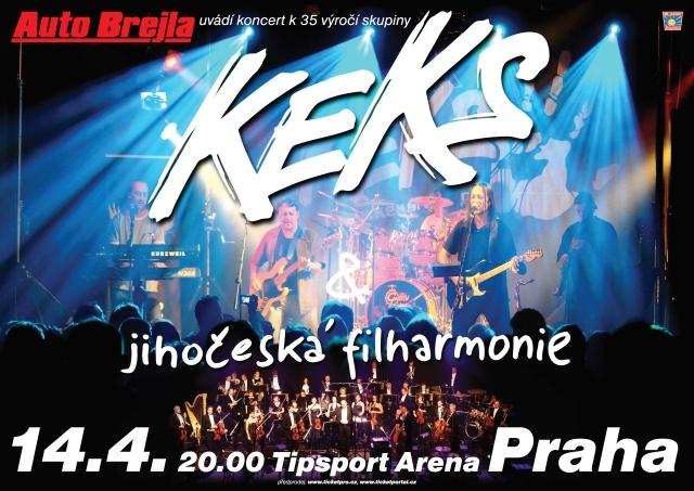 KEKS - Výroční koncert hala
